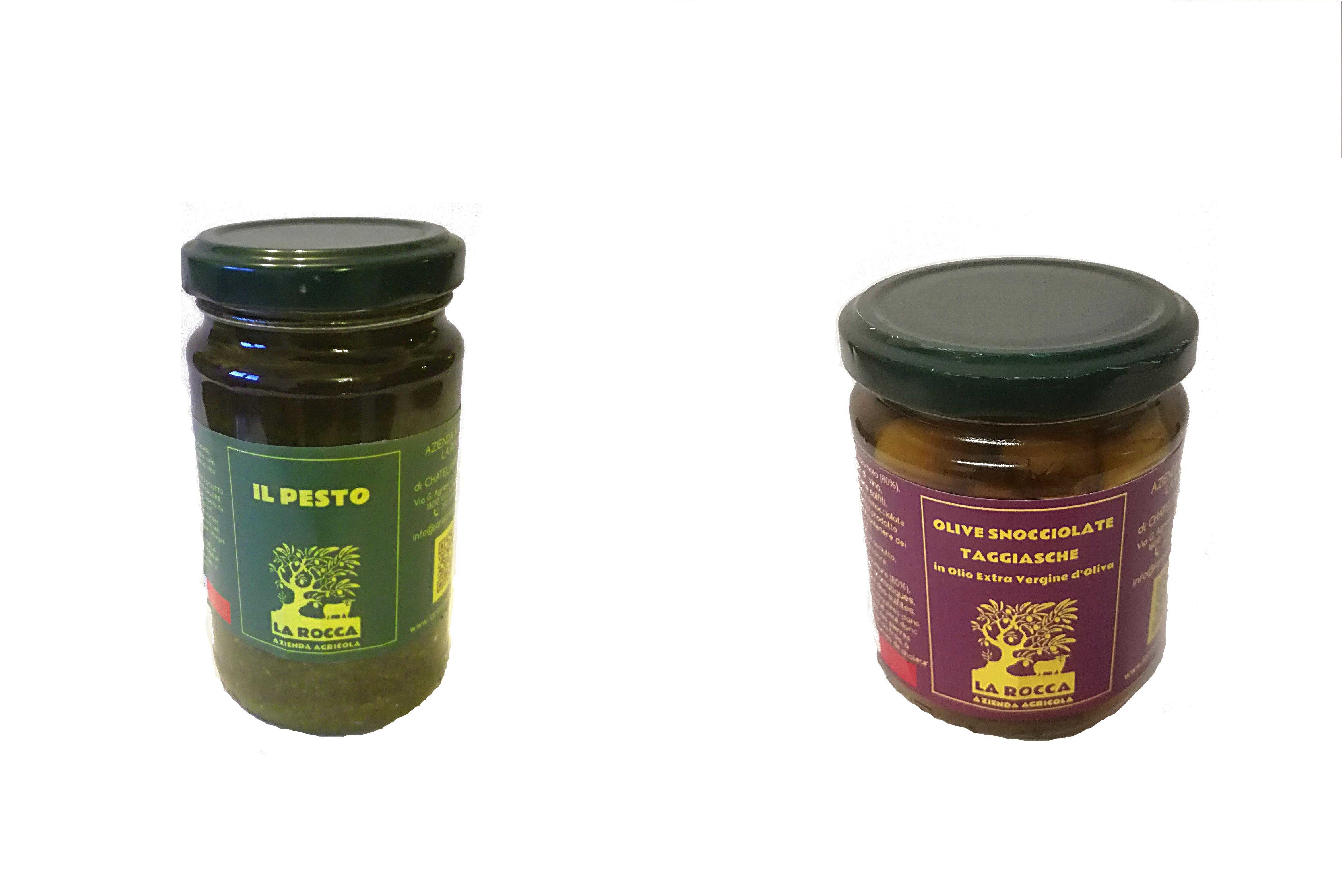 Pesto e olive Azienda Agricola La Rocca