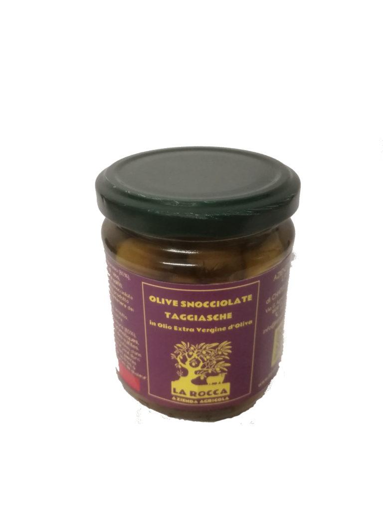 Olive snocciolate sott'olio