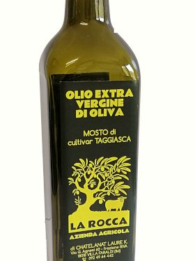 Bottiglia olio extra vergine di oliva