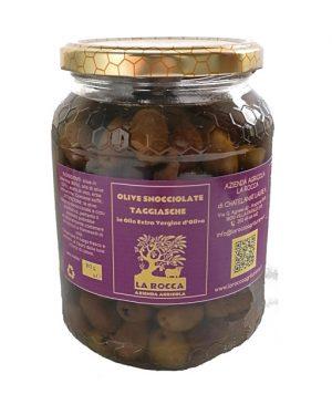 Olive Taggiasche snocciolate sott'olio